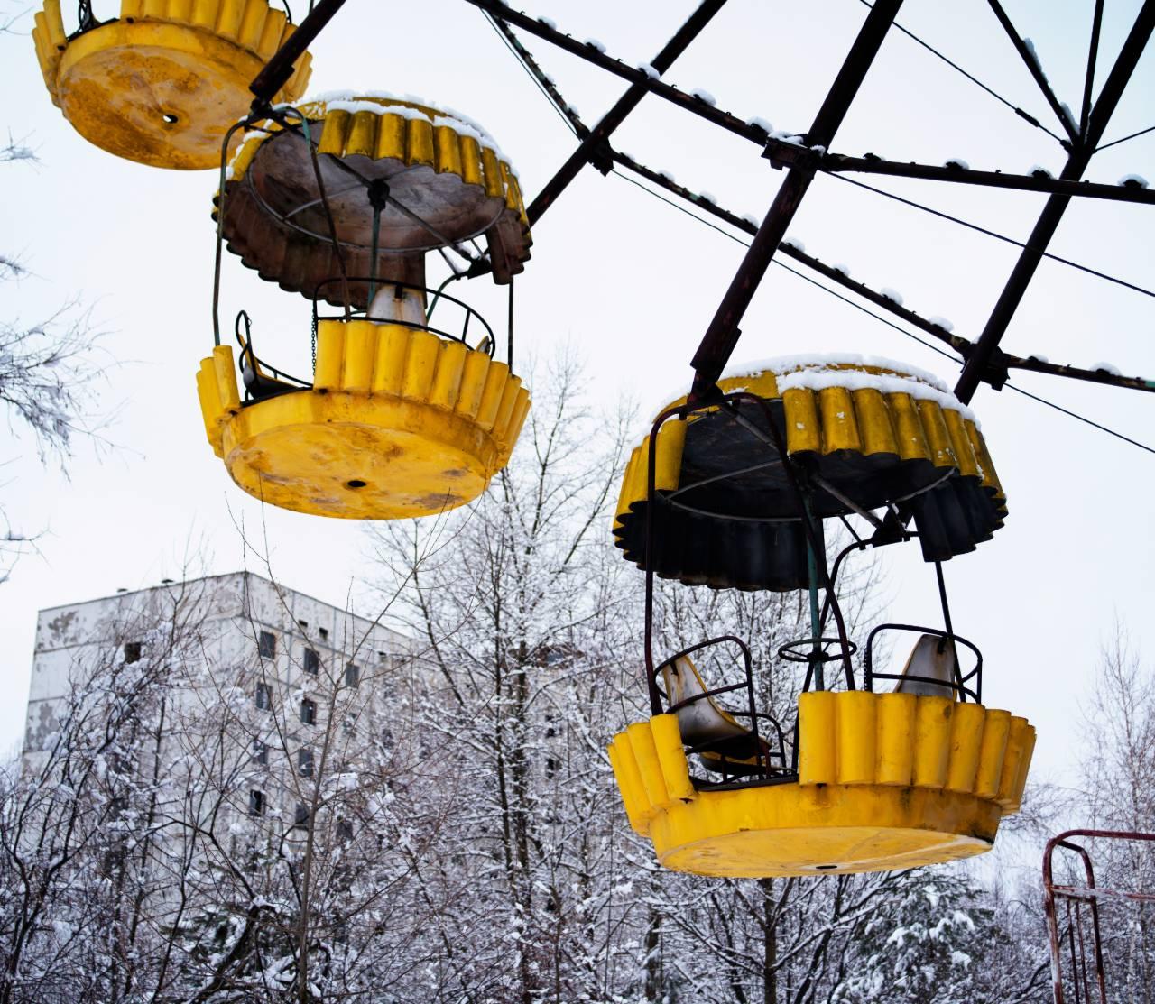 černobyl zajazd